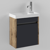 Slim bathroom cabinet