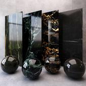 Marble-black