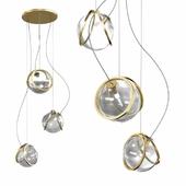 Terzani pug pendant light 3d model