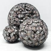 Gabion sphere / Gabion sphere