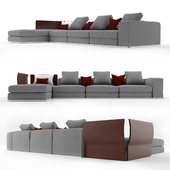Minotti west sofa