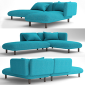 Cappellini Hobo Contract sofa