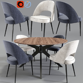 Dining Chair And Table 11
