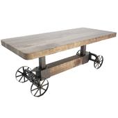 Industrial Trolley Table