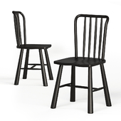 Bergen Oak Dining Chair Cox and Cox