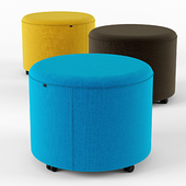 Bend Pouf By Actiu