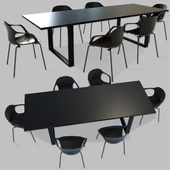 Nap Chairs and Table Set