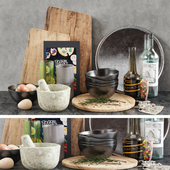 Kitchen Decorative set 01