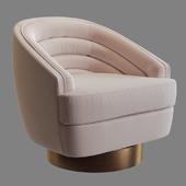 Chair SAFAVIEH Arvilla Swivel Club Chair