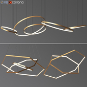 Ring & Octane Chandelier Collection