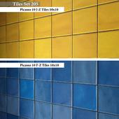 Tiles set 205
