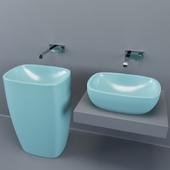 NIC design. Washbasin milk. Solo tap.