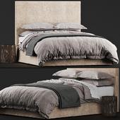 Restoration Hardware PARSONS SLIPCOVERED BED