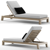 RH Outdoor Bonaire chaise