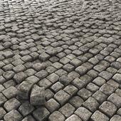 Paving old stone granite / Old granite stone blocks