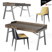 Raventown Home Office Desk and Chair Laja 880