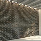 Кирпичная стена. Старый кирпич. 79