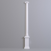 Europlast semicolon. Capital: 1.15.009 Barrel: 1.16.070 Base: 1.17.800 Pedestal 1.18.002