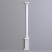 Europlast semicolon. Capital: 1.15.010 Barrel: 1.16.080 Base: 1.17.900 Pedestal 1.18.003