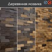 Wooden mosaic, 002