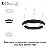 Suspended / Surface mounted LED lamp Donolux DL600C54WW