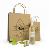 Paper Bags And Wine