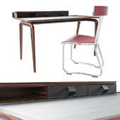 Molteni & C table: NOTE chair: D.235.2