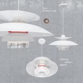Подвесной светильник Poul Henningsen PH5 Modern White Pendant Lamp