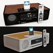 Desktop Yamaha TSX-B232 audio system