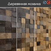 Wooden mosaic, 003