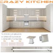 Classic Kitchen Facade Set - Crazy Kitchen V.3