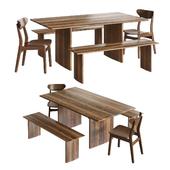 Westelm - Anton Dining furniture set