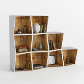 bookcase DB005500 by Dialma Brown