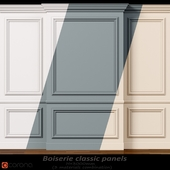 Wall molding 11. Boiserie classic panels