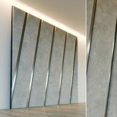 Декоративная стена. Мягкая панель. 66
