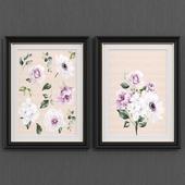 Flower art set