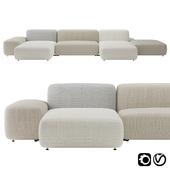 Plus Island Big Sofa by Lapalma