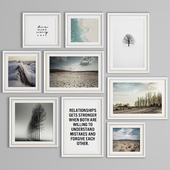 PHOTO FRAME SET 27 (9 FRAME WALL COLLECTION)