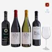 wine bottle set 2