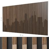Decorative wall 237.
