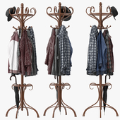 Bentwood Hat & Coat Stand
