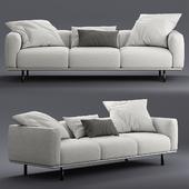 flou binario three seats sofa