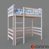 Bed children's Attic