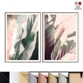 "Poster Set ""Soft Jungle"""