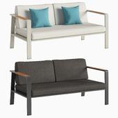 Двухместный диван NOFI