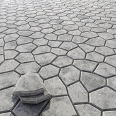 Title stone decoration / Плиточный камень для декорации