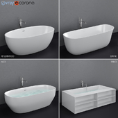 Antoniolupi set 45 (Ago, Biblio, Dafne, Reflexmood) freestanding bathtub