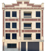 3d model: Exterior: Buildings - download 3dsky org