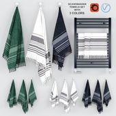 Towels Set - Scandinavian Design