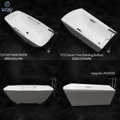 TOTO BATHUB PJY1804PW/HPW,Soirée® Free Standing Bathtub,hangrohe 74532001